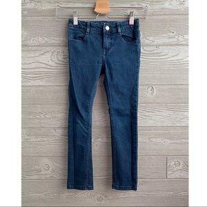 Gymboree size 6 dark wash skinny jeans